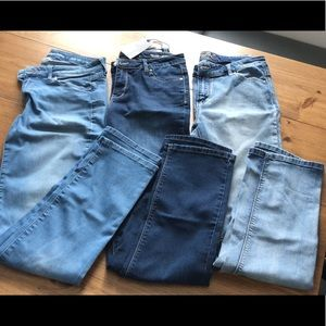 3 pairs of Buffalo Jeans